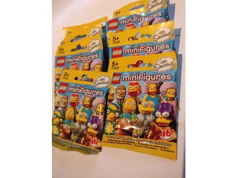 Lego 71009 Minifigures 8st Oöppnade The Simpsons Minifigurer