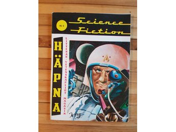 Häpna 1965 Nr 6 Science Fiction SF Rymden Nostalgi Kult Retro 60 tal