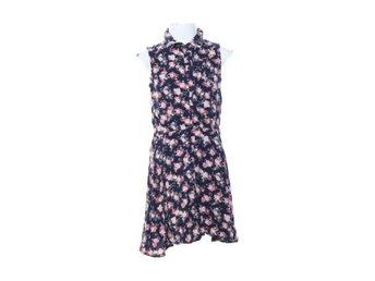 lindex blå klänning