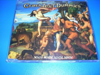 CRASH TEST DUMMIES - mmm mmm mmm mmm cds  (cd)