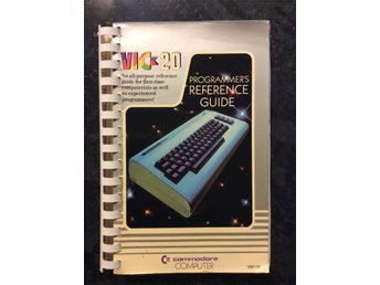 Commodore/ VIC 20 -- Programmers reference guide -- fint skick