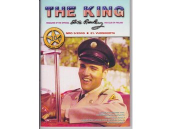 The King,finska Elvis fanclub tidning nr 3 2005