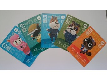 Animal Crossing Amiibo Cards series 2 Nr 102, 103, 105, 106, 108