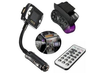 Car Kit Wireless Remote Handsfree Bluetooth FM Transmitter MP3 Player USB SD LCD - Govindapuram - Car Kit Wireless Remote Handsfree Bluetooth FM Transmitter MP3 Player USB SD LCD - Govindapuram