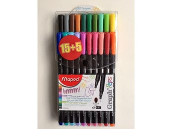 Maped Fineliner Peps 20 st