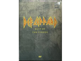 DEF LEPPARD Best Of The Videos 2004 DVD