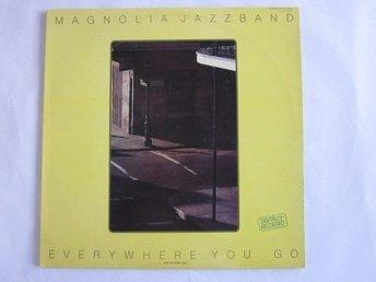 Magnolia Jazzband -Everywhere you go LP Rare Norwegian Jazz - Motala - Magnolia Jazzband -Everywhere you go LP Rare Norwegian Jazz - Motala