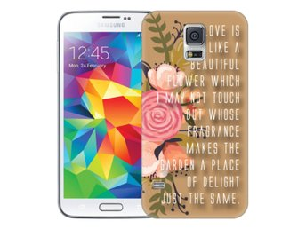 Samsung Galaxy S5 Skal Beautiful Quote