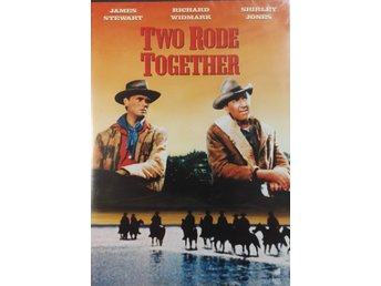 Western Two Rode Together med  James Stewart och Richard Widmark