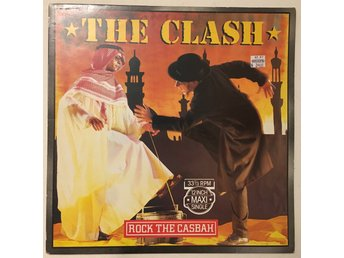 The Clash - Rock the casbah / Mustapha dance, 1982