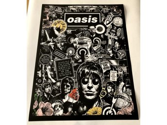 OASIS THERE IS ALWAYS TOMORROW POSTER