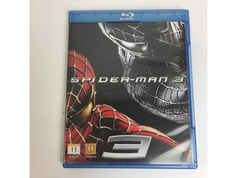 Spiderman 3, Film, Blu-ray, Äventyr, 2012