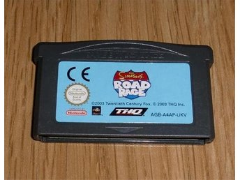 GBA: Simpsons Road Rage