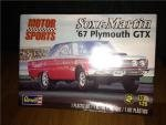 Revell Monogram 1/25 Sox and Martin '67 Plymouth GTX