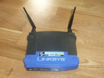 Linksys WRT54GS i fint skick