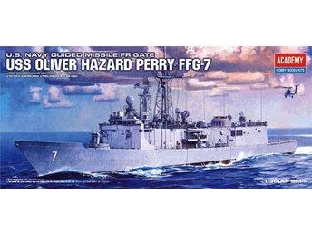 Academy 1/350 USS OLIVER HAZARD PERRY - Lund - Academy 1/350 USS OLIVER HAZARD PERRY - Lund