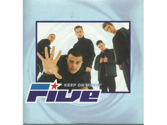 FIVE - KEEP ON MOVIN ( CD MAXI/SINGLE )