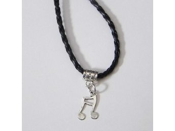 Musiknot halsband / Music note necklace