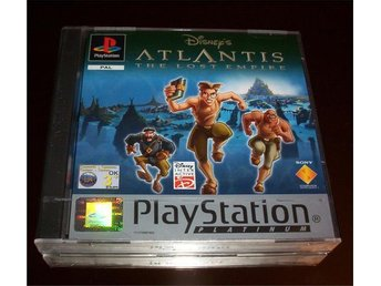PS: Disneys Atlantis the Lost Empire (ny)
