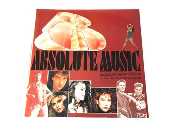 ABSOLUTE MUSIC 8. LP-skiva år 1989
