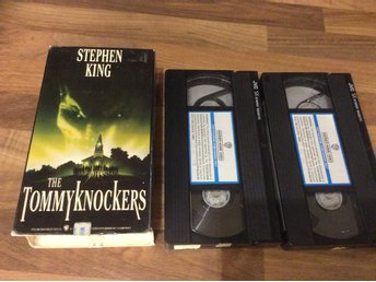 The Tommy Knockers VHS skräck  Stephen King