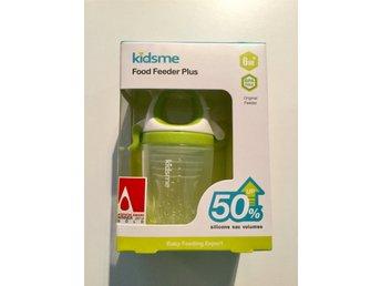 Kidsme Food Feeder Plus i silikon från 6 månader - Nödinge - Kidsme Food Feeder Plus i silikon från 6 månader - Nödinge