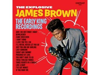Brown James: Explosive James Brown (Vinyl LP) - Nossebro - Brown James: Explosive James Brown (Vinyl LP) - Nossebro
