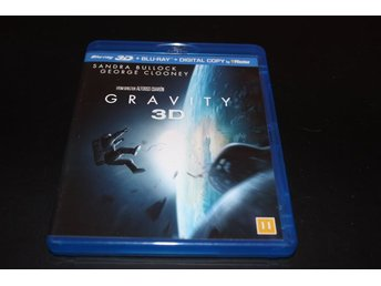 Blu-ray3D: Gravity 3D - Blu-ray3D+Blu-ray+Digital copy