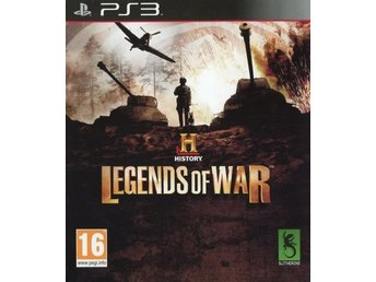 PS3 - History: Legends of War (Beg)
