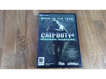 Call of Duty 4, Modern Warfare, PC DVD-Rom
