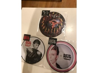 David Bowie - Beauty And The Beast, Heroes, Zeroes Limited Picture Disc Vinyl