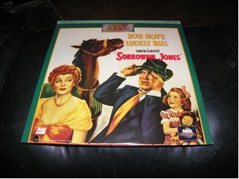 Sorrowful Jones - Encore Edition - 1st Laserdisc