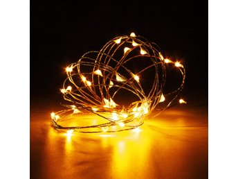 Battery Powered 10M 100LEDs Waterproof Copper Wire Fairy ...