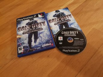 CALL OF DUTY WORLD AT WAR PS2 BEG