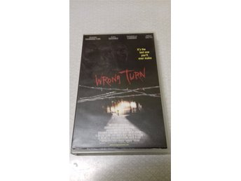 WRONG TURN. FD HYR VHS