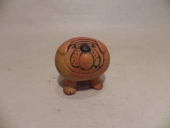 FIGURIN GUSTAVSBERG LISA LARSON 1972 KENNEL BULLDOG MINI