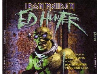 IRON MAIDEN-Ed Hunter-2 CD 1999-Maiden TOP 20 Of All Time - Västerås - IRON MAIDEN-Ed Hunter-2 CD 1999-Maiden TOP 20 Of All Time - Västerås