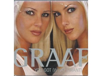GRAAF - YOU GO WHAT I WANT   ( CD MAXI/SINGLE )