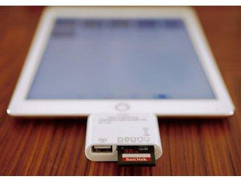 iPad Camera Connection Kit, Lightningkontakt, bilder och filmer direkt till iPad - Bandhagen - iPad Camera Connection Kit, Lightningkontakt, bilder och filmer direkt till iPad - Bandhagen