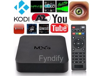 Smart TV Box Android 4.4 Quad Core MXQ EU Plug