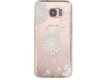 Samsung Galaxy S6 EDGE - Maskros Blomma Henna Vit - Mjölby - Samsung Galaxy S6 EDGE - Maskros Blomma Henna Vit - Mjölby