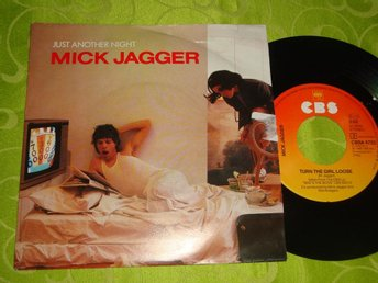 "MICK JAGGER - JUST ANOTHER NIGHT 7"" 1985"