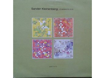 Sander Kleinenberg titel* 4 Seasons EP (Part 2 Of 3)* Progressive Trance 2 ×12