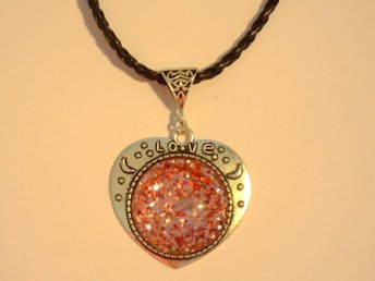 Rosa Halsband / Pink Necklace