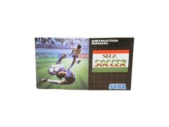 Sega Soccer (Manual MD EUR)