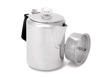 GSI OUTDOORS GLACIER STAINLESS 9 CUP PERCULATOR Rek butiskpris: 600 kr