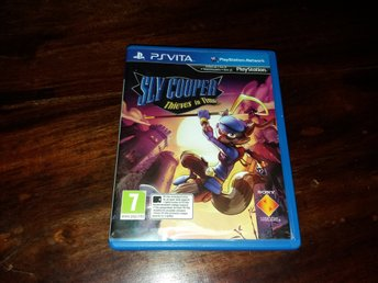 Sly Cooper Thieves in Time, Vita, Komplett, Fint Skick!