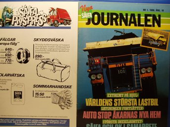 Ä.Tidskrift SÅFIA Journalen 1986
