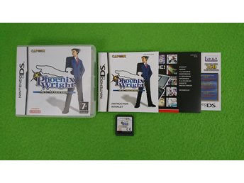 Phoenix Wright Ace Attorney KOMPLETT Nintendo DS