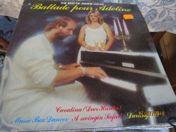 THE BEST OF JANNE LUCAS - BALLADE POUR ADELINE -  LP